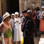 Ein buntes Völkergemisch prägt das Leben in der Altstadt.