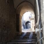 Viele Treppenstufen sind beim Gang durch die Jerusalemer Altstadt zu überwinden.