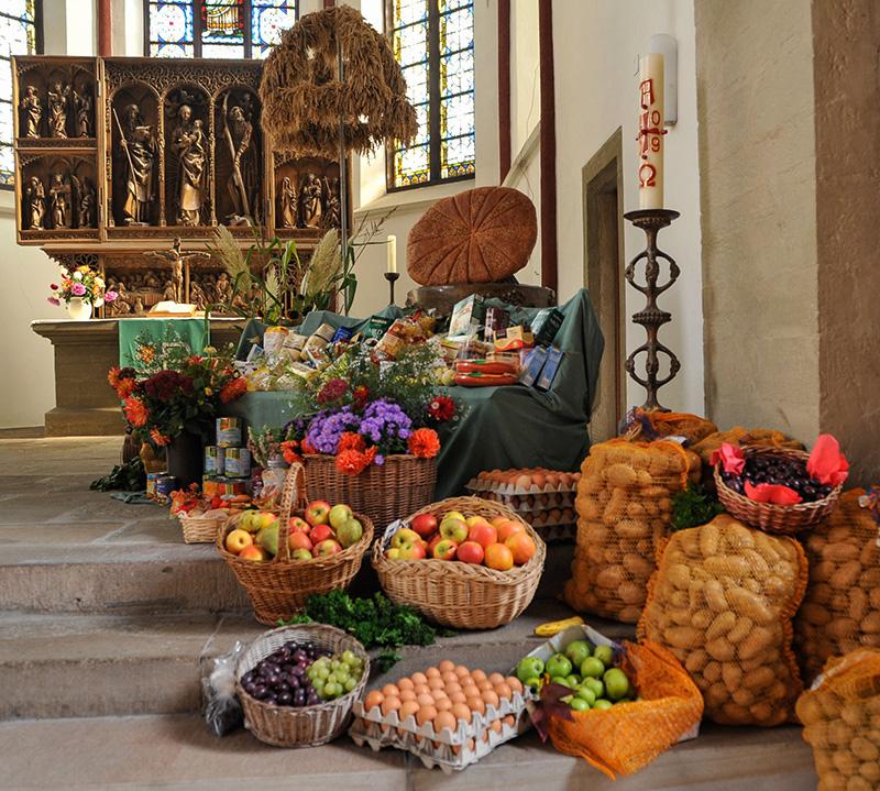 Erntedankfest Kirche