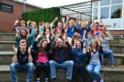 Ehemalige Trainees bei der Ausbildung Ehrenamtlicher MitarbeiterInnen der Ev. Jugend