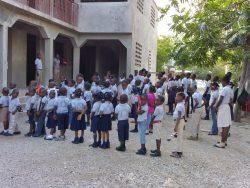 Konfi-Projekttag zur Haiti-Not-Hilfe