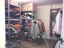 Kleiderkammer offen für alle Bedürftigen