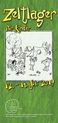 Zeltlager Auf dem Brocklandvom 12. – 14. Juli 2019